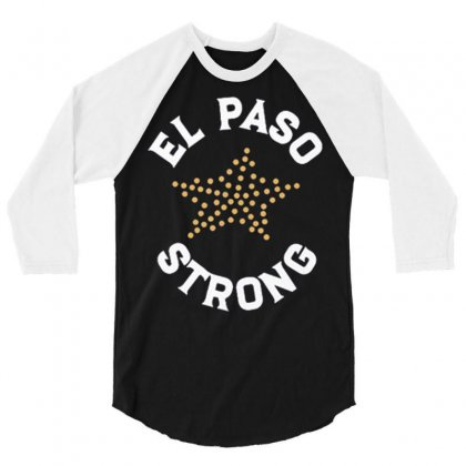 El Paso Strong T Shirt 3/4 Sleeve Shirt Designed By Tran Ngoc