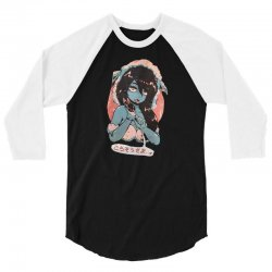 anime girl 3/4 Sleeve Shirt | Artistshot