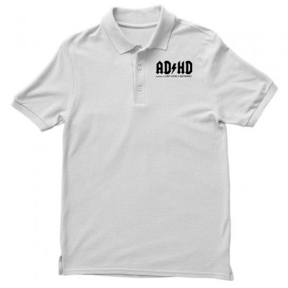 Ad Hd Highway To Hey Look A Squirrel Men's Polo Shirt Designed By Mirazjason