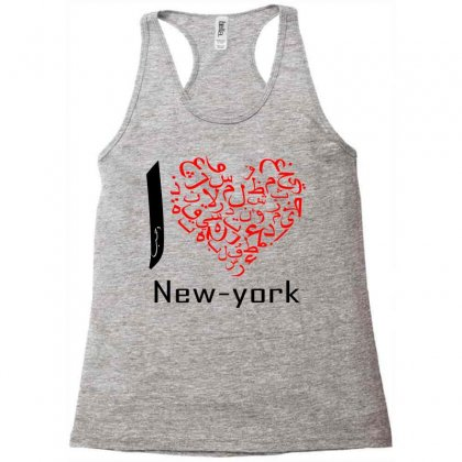 I Love New York 6 Racerback Tank Designed By Nowlam