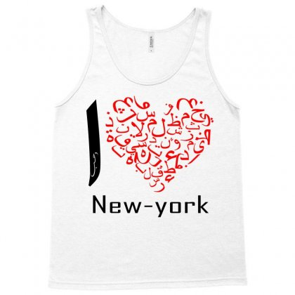 I Love New York 6 Tank Top Designed By Nowlam