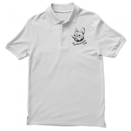 The Troublemakers Club Men's Polo Shirt Designed By Mirazjason