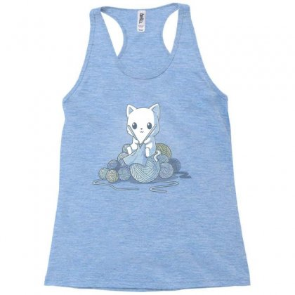 Gifts For People Who Like Knitting Racerback Tank Designed By Anrora