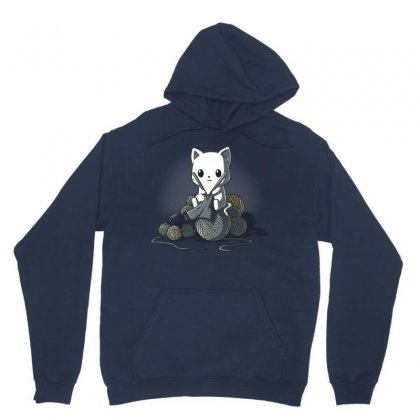 Gifts For People Who Like Knitting Unisex Hoodie Designed By Mdk Art