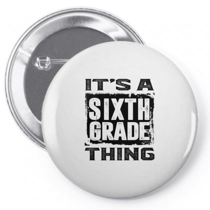 Sixth Grade Thing Pin-back Button Designed By Ale C. Lopez