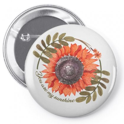 You Are My Sunshine Pin-back Button Designed By Seda