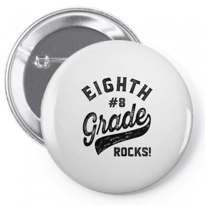 Eighth Grade Rocks! Pin-back Button Designed By Ale C. Lopez