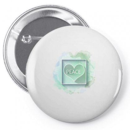 Peace Pin-back Button Designed By Seda