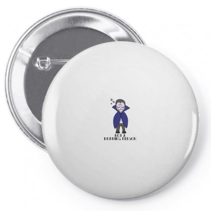 Not A Morning Person For Light Pin-back Button Designed By Seda