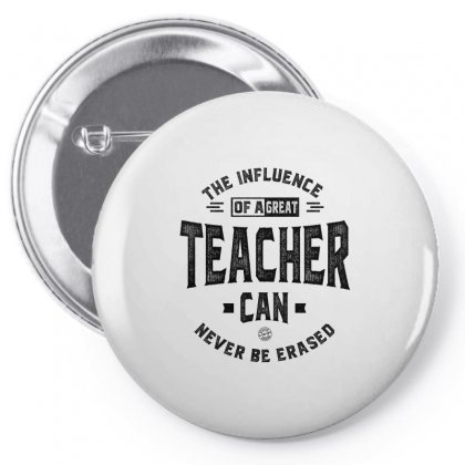 The Influence Of A Great Teacher Pin-back Button Designed By Ale C. Lopez