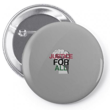 Justice For All Pin-back Button Designed By Hasret