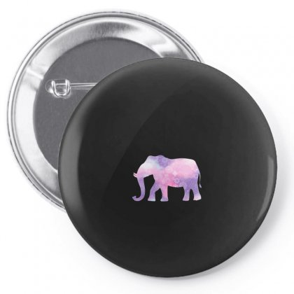 Elephant Watercolor Pin-back Button Designed By Hasret