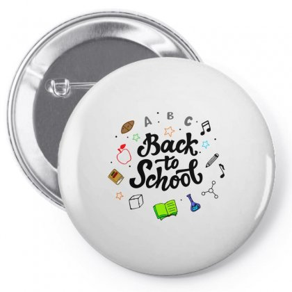 Back To School Pin-back Button Designed By Alqamar