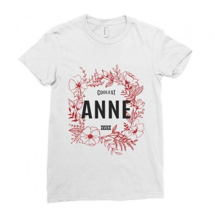 Anne Ladies Fitted T-shirt Designed By Chris Ceconello