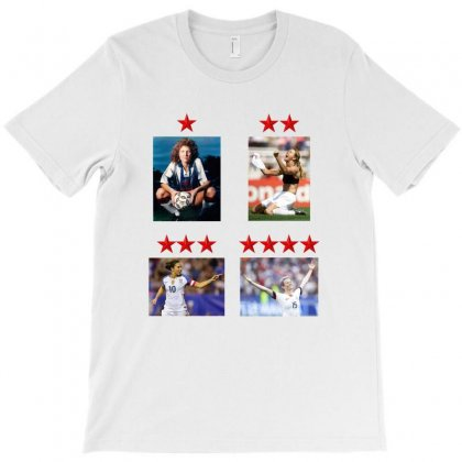 Uswnt 4 World Cup Stars T-shirt Designed By Honeysuckle