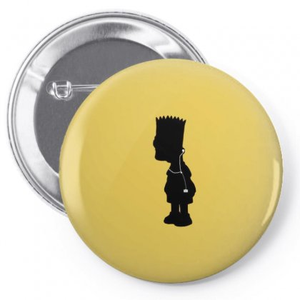 Bart Pin-back Button Designed By Disgus_thing