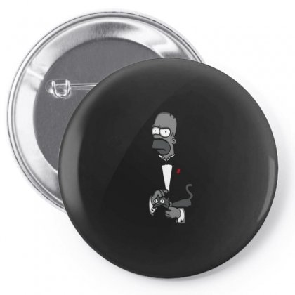 Homer Pin-back Button Designed By Disgus_thing