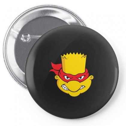 Ninja Bart Pin-back Button Designed By Disgus_thing
