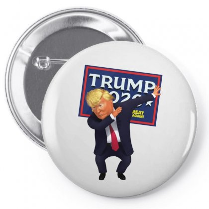 The Dab By Trump Pin-back Button Designed By Tiococacola