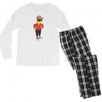 Bart Men's Long Sleeve Pajama Set Designed By Disgus_thing