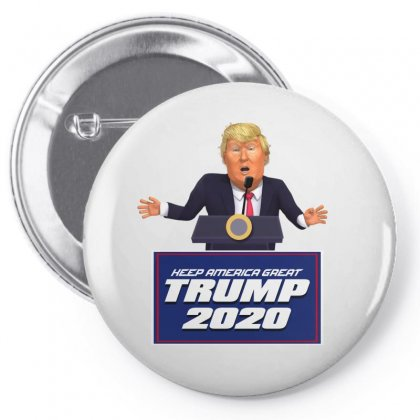 Trump's  Victory Speech Pin-back Button Designed By Tiococacola