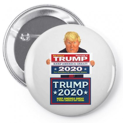 Trump Pence Pin-back Button Designed By Tiococacola