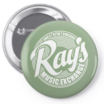 Ray's Music Exchange Pin-back Button Designed By Bambangtriadmaja