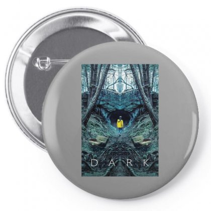Dark Pin-back Button Designed By Titis