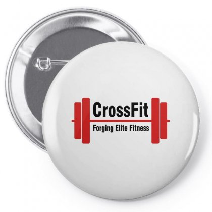 Crossfit Forging Elite Fitness (black) Pin-back Button Designed By Viral Style