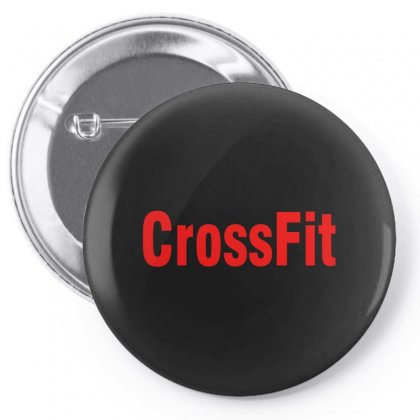 Crossfit (red) Pin-back Button Designed By Viral Style