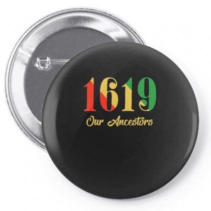 1619 Our Ancestors T Shirt Pin-back Button Designed By Tran Ngoc