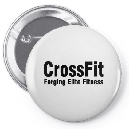 Crossfit (black) Pin-back Button Designed By Viral Style