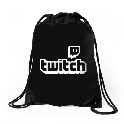 Twitch Drawstring Bags Designed By Bpn Inside