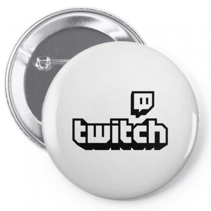 Twitch Tv Pin-back Button Designed By Bpn Inside