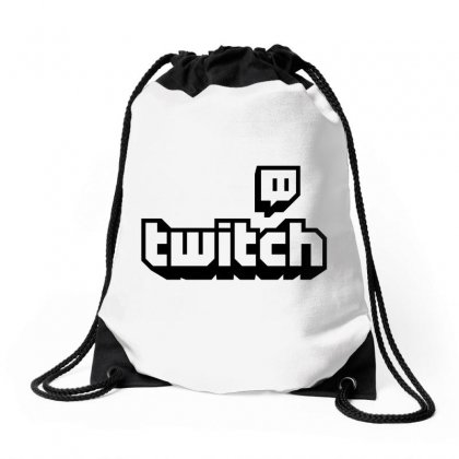 Twitch Tv Drawstring Bags Designed By Bpn Inside
