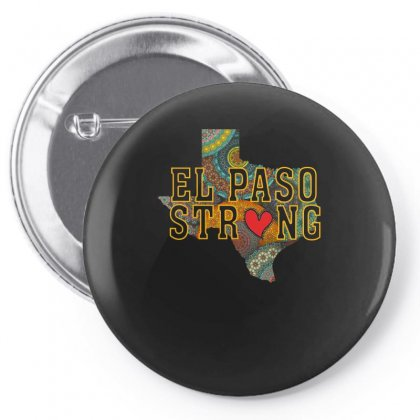 El Paso Strong Pin-back Button Designed By Gurkan