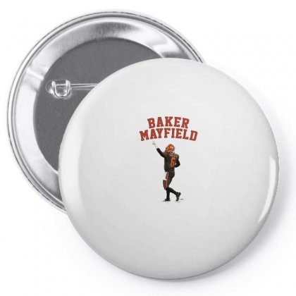 Baker Mayfield Pin-back Button Designed By Hasret