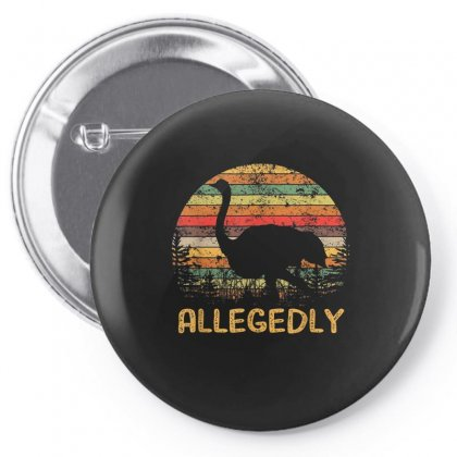 Allegedly Ostrich Shirt Ostrich Lover Pin-back Button Designed By Anrora