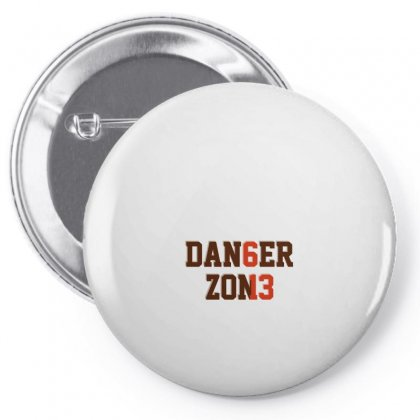 Danger Zone Pin-back Button Designed By Hasret