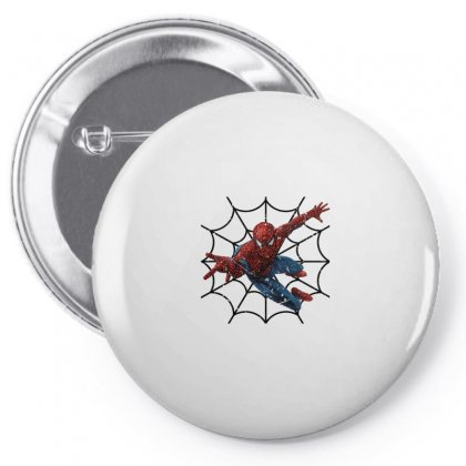 Spiderman For Light Pin-back Button Designed By Seda