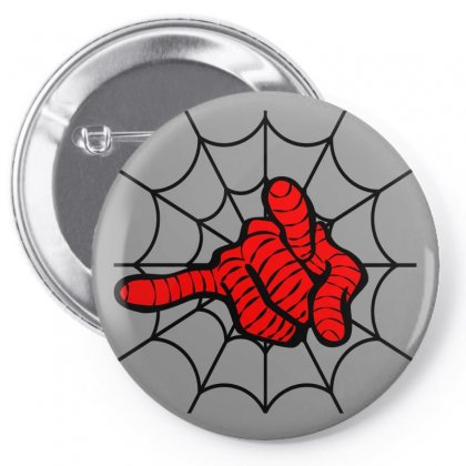 Spiderman's Web For Light Pin-back Button Designed By Seda