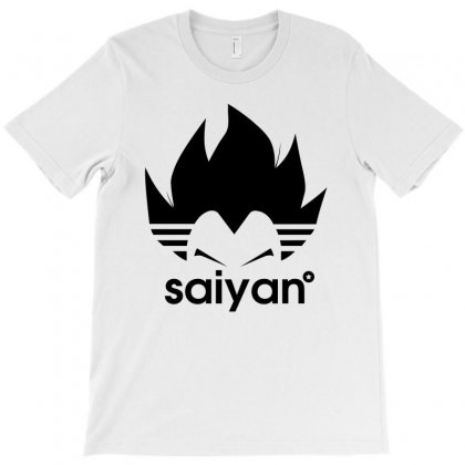 Saiyan T-shirt Designed By Toweroflandrose
