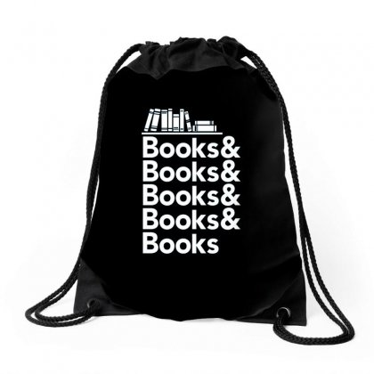 Books Drawstring Bags Designed By Disgus_thing