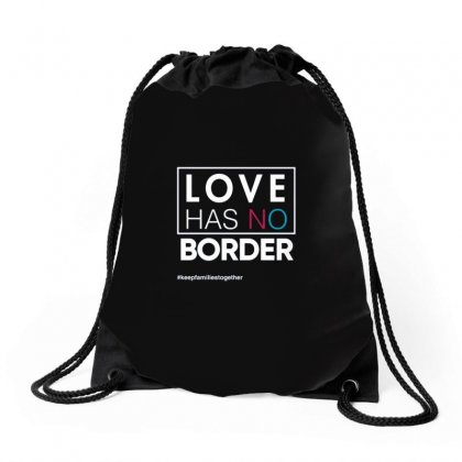 Love Has No Borders Drawstring Bags Designed By Disgus_thing