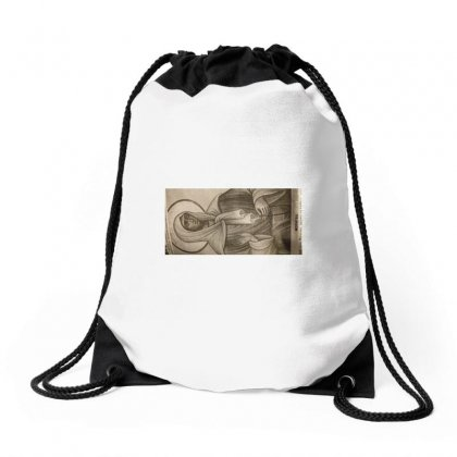 She Saves You Against Depression.pray To Her. Drawstring Bags Designed By Julia