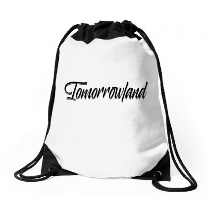 Tomorrowland Drawstring Bags Designed By Tiococacola