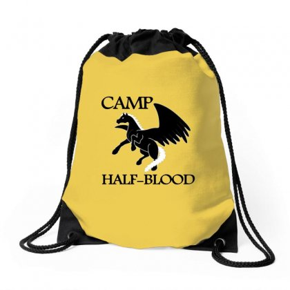 Half Blood Drawstring Bags Designed By Doniemichael