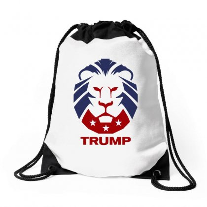 Make America Great Again Republican Party Lion Guard Drawstring Bags Designed By Tiococacola