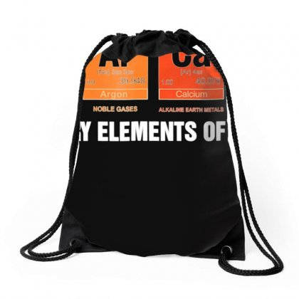 Science T Shirt Sarcasm S Ar Ca Sm Primary Elements Of Humor Drawstring Bags Designed By Nhan