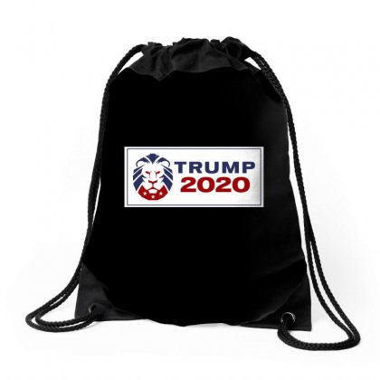 Republican Party Lion 2020 Drawstring Bags Designed By Tiococacola